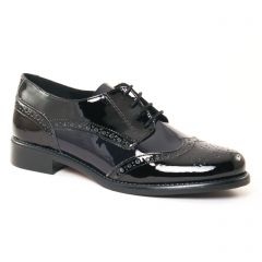 derbys noir marine: même style de chaussures en ligne pour femmes que les Scarlatine
