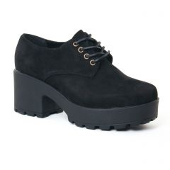 derbys-talon noir: même style de chaussures en ligne pour femmes que les Coolway