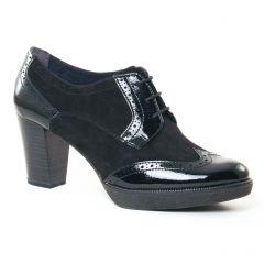 derbys-talon noir: même style de chaussures en ligne pour femmes que les Geo Reino