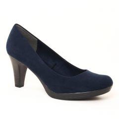 Chaussures femme hiver 2017 - escarpins marco tozzi bleu marine