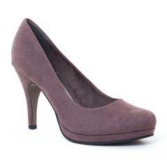 escarpins gris taupe: même style de chaussures en ligne pour femmes que les Marco Tozzi