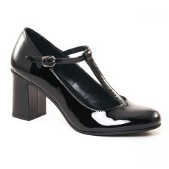 escarpins-salome noir: même style de chaussures en ligne pour femmes que les Mamzelle