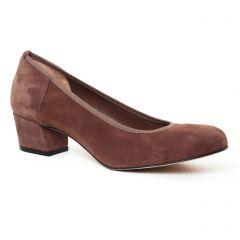Chaussures femme hiver 2017 - escarpins trotteur Perlato marron