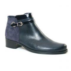 low-boots bleu marine: même style de chaussures en ligne pour femmes que les Fugitive