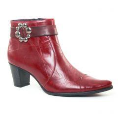 Chaussures femme hiver 2017 - low boots Dorking bordeaux