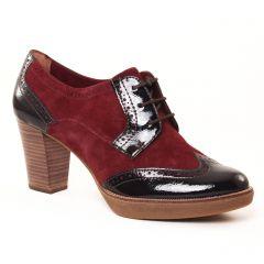 derbys-talon bordeaux: même style de chaussures en ligne pour femmes que les Scarlatine
