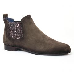 low-boots vert: même style de chaussures en ligne pour femmes que les Pintodiblu By Costacosta