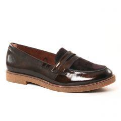 mocassins-confort marron: même style de chaussures en ligne pour femmes que les Rieker