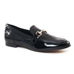 Chaussures femme hiver 2017 - Mocassins Slippers Maria Jaén vernis noir