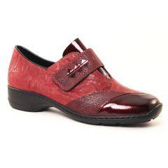 mocassins-trotteurs bordeaux: même style de chaussures en ligne pour femmes que les Les Tropéziennes