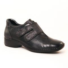 mocassins-trotteurs noir: même style de chaussures en ligne pour femmes que les Pintodiblu By Costacosta