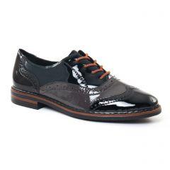 richelieus noir: même style de chaussures en ligne pour femmes que les Rieker