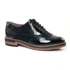 richelieus noir: même style de chaussures en ligne pour femmes que les Tamaris