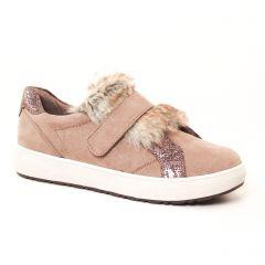 tennis beige: même style de chaussures en ligne pour femmes que les Remonte
