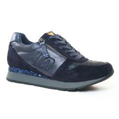 tennis bleu marine: même style de chaussures en ligne pour femmes que les Geox