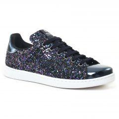 tennis bleu paillettes: même style de chaussures en ligne pour femmes que les Marco Tozzi