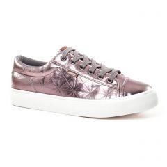 tennis gris rose doré: même style de chaussures en ligne pour femmes que les Victoria