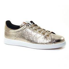 tennis marron doré: même style de chaussures en ligne pour femmes que les Tamaris