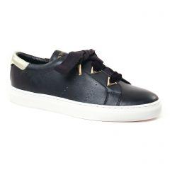 Les Tropéziennes Lisandro Noir : chaussures dans la même tendance femme (tennis noir or) et disponibles à la vente en ligne
