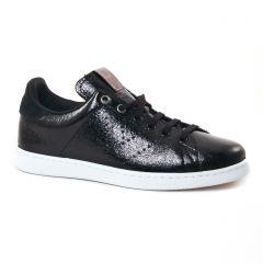 tennis noir: même style de chaussures en ligne pour femmes que les Geox
