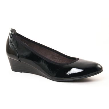 Ballerines Tamaris 22304 Black Patent, vue principale de la chaussure femme