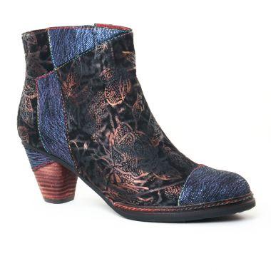 Bottines Et Boots Laura Vita Alizee Bleu, vue principale de la chaussure femme