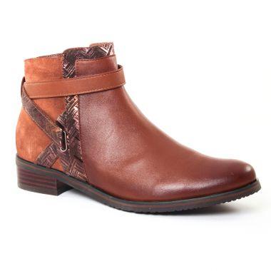 Bottines Et Boots Fugitive Valico Nappa Gold, vue principale de la chaussure femme