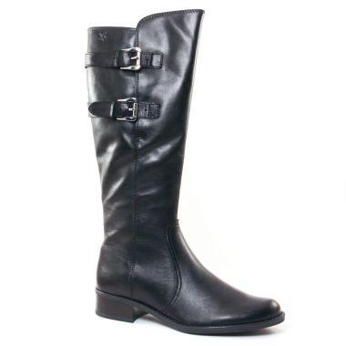 Bottes Caprice 25533 Black, vue principale de la chaussure femme