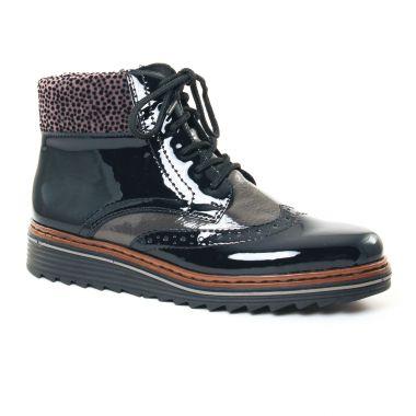 Bottines Et Boots Rieker Y6323 Marine, vue principale de la chaussure femme