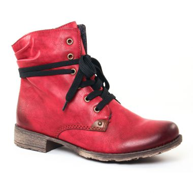 Bottines Et Boots Rieker 70829 Bordeaux, vue principale de la chaussure femme