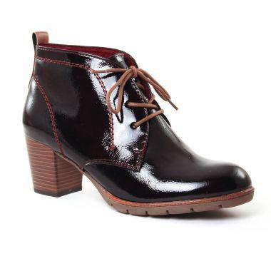 Bottines Et Boots Marco Tozzi 25109 Merlot, vue principale de la chaussure femme