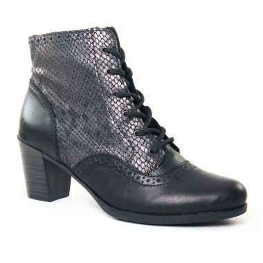Bottines Et Boots Rieker Y8930 Noir, vue principale de la chaussure femme
