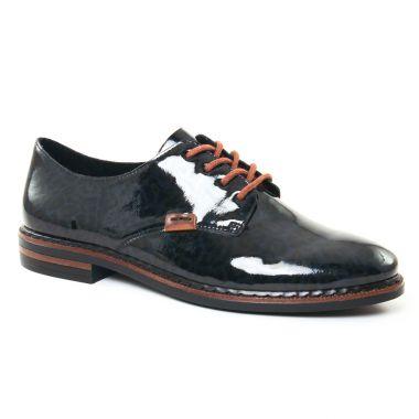 Chaussures À Lacets Rieker 50614 Navy, vue principale de la chaussure femme