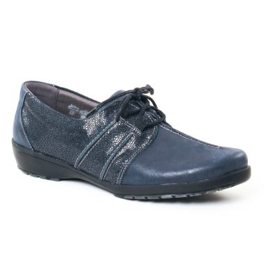 Chaussures À Lacets Suave 8005 Marine, vue principale de la chaussure femme