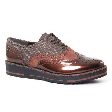 Chaussures À Lacets Marco Tozzi 23701 Cafe, vue principale de la chaussure femme
