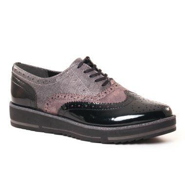 Chaussures À Lacets Marco Tozzi 23701 Black, vue principale de la chaussure femme
