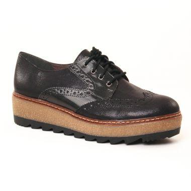 Chaussures À Lacets Tamaris 23618 Black, vue principale de la chaussure femme