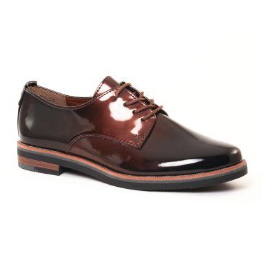 Chaussures À Lacets Marco Tozzi 23200 Mocca, vue principale de la chaussure femme