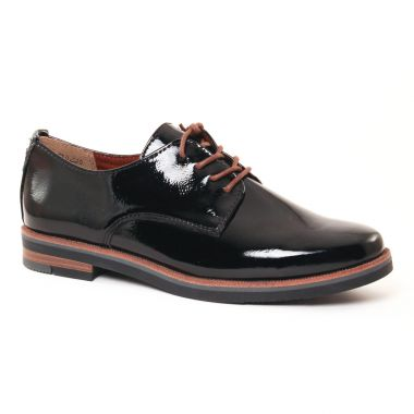 Chaussures À Lacets Marco Tozzi 23202 Black, vue principale de la chaussure femme