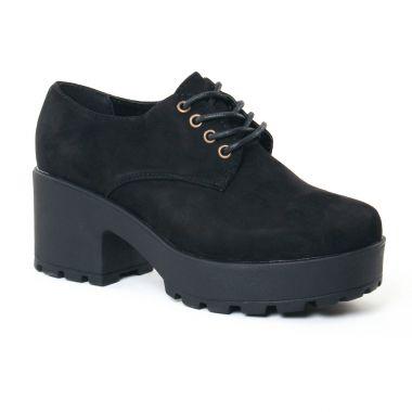 Chaussures À Lacets Coolway Cruise Black, vue principale de la chaussure femme