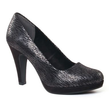 Escarpins Marco Tozzi 22400 Black, vue principale de la chaussure femme