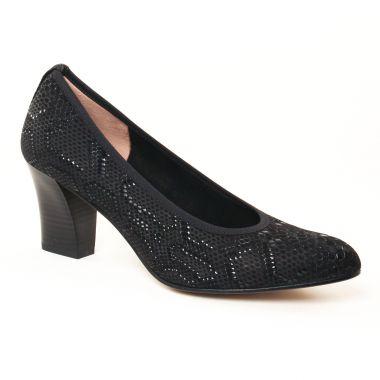 Escarpins Perlato 10365 Bandy Noir, vue principale de la chaussure femme