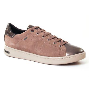 Tennis Et Baskets Mode Geox D621Ba Taupe, vue principale de la chaussure femme