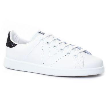 Tennis Et Baskets Mode Victoria Deportivo 125104 Noir Blanc, vue principale de la chaussure femme