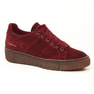Tennis Et Baskets Mode Tamaris 23721 Merlot, vue principale de la chaussure femme