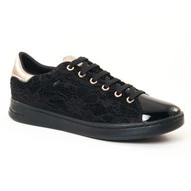 Tennis Et Baskets Mode Geox D621Ba Black, vue principale de la chaussure femme
