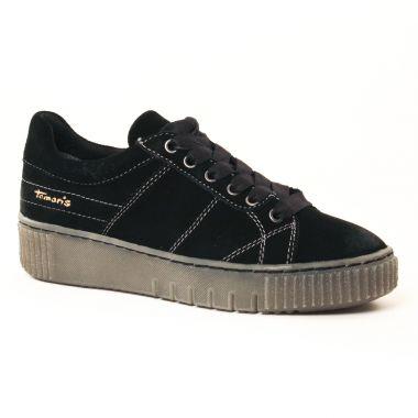 Tennis Et Baskets Mode Tamaris 23721 Black, vue principale de la chaussure femme