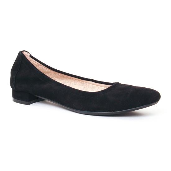 Ballerines Jb Martin 2Olymps Noir, vue principale de la chaussure femme