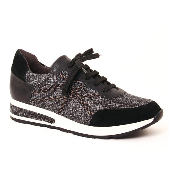 Tennis Et Baskets Mode Mamzelle Ugoline Compo Diams Noir, vue principale de la chaussure femme