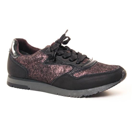 Tennis Et Baskets Mode Tamaris 23601 Black, vue principale de la chaussure femme